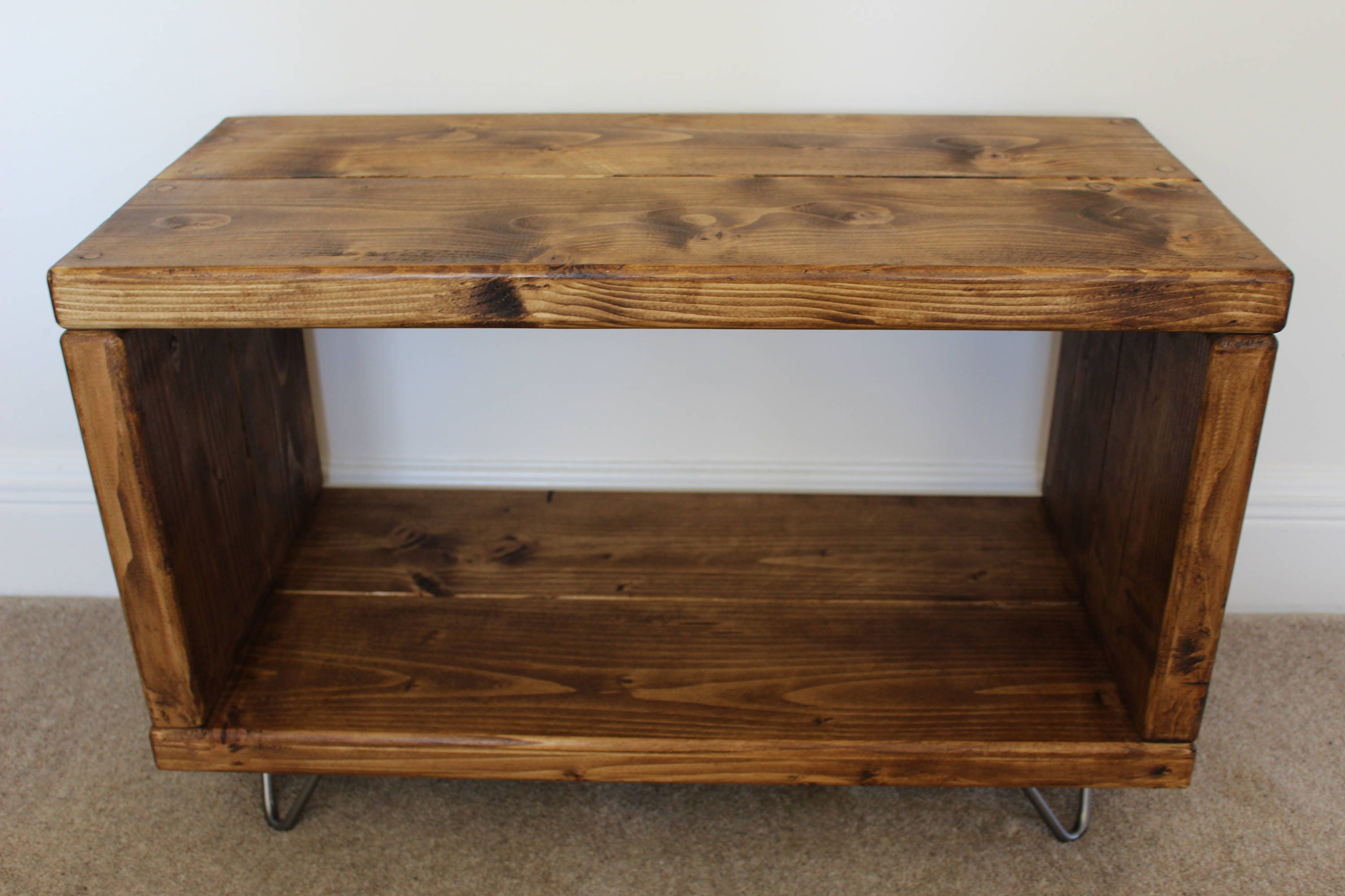 Handcraftted reclaimed wooden tv stand record player stand zoom geotapseo Images
