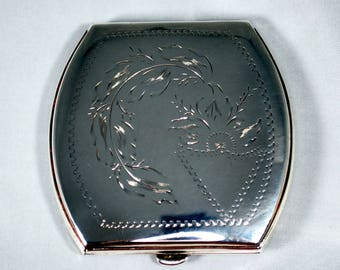 Vintage Sterling Powder Compact