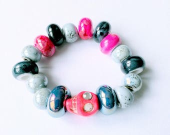 """Beaded elastic """"Pearls"""" collection"""