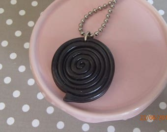 realistic black licorice necklace