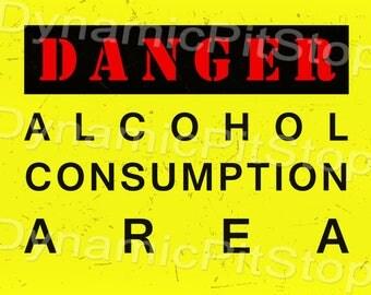 30x40cm Funny Alcohol Tin Sign