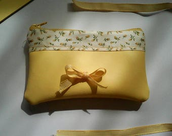 Yellow purse bag