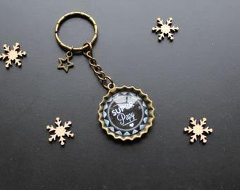 Super Grandpa keychain