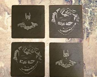 Batman Vs Joker Coasters