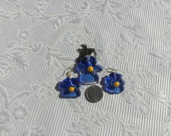 Pansy necklace set