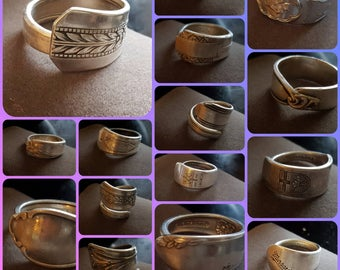 Handmade Spoon Rings