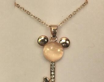 Mickey Mouse Key Necklace