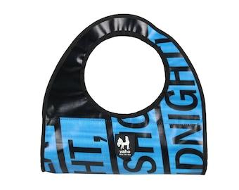 Vegan Handbag for Women from Billboard. Waterproof Shopping bag  from recycled advertising vinyl