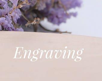 Engraving service