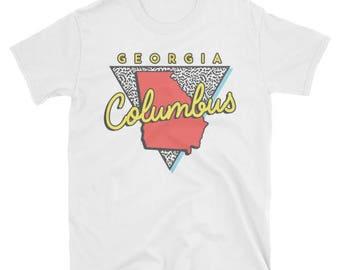 Columbus Georgia T Shirt Vintage GA
