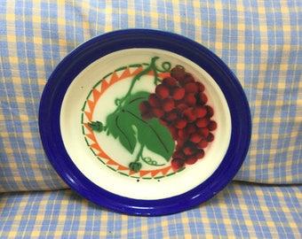 Large enamel serving platter
