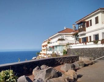 A Patio with a View Tenerife Photo