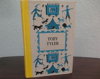 Toby Tyler Hardcover Book by James Otis, Junior Deluxe Editions