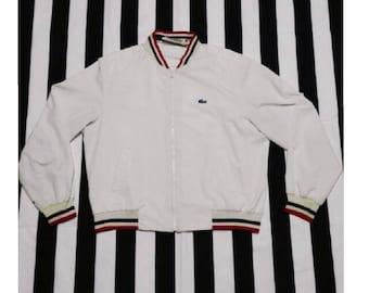 Free Shipping !! Vintage Izod Lacoste Jacket