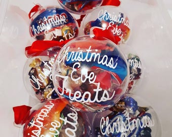 Christmas Eve Treat Refillable Bauble