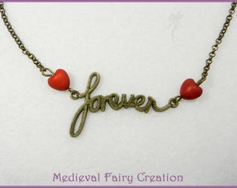 """Necklace """"Forever love"""""""