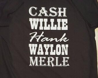 Glitter Old School Country Music Shirt/Unisex Country Shirt/Cute Country Shirts/Heat Transfer Vinyl Unisex Shirt/Women's Country Gift