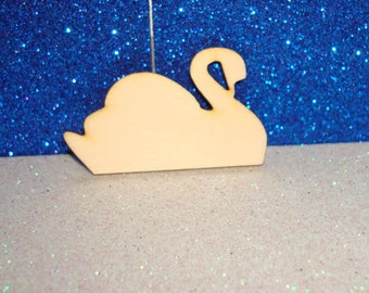 Swan 1633 embellishment wooden creations