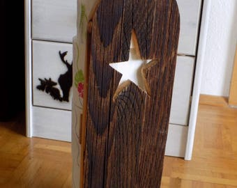 Toilet roll holder/Klorollen holder star