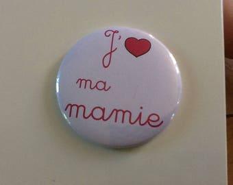 Very nice Magnet 56 mm I love my grandma