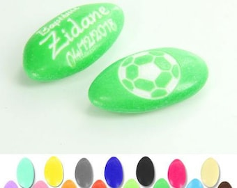 Football personalized dragees