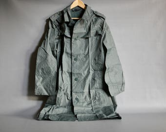 SWISS ARMY OVERCOAT 1970s, Swiss Military Overcoat, Swiss Army Wool Coat, Swiss Military Wool Coat, 1970s Swiss Army Coat Detachable Liner