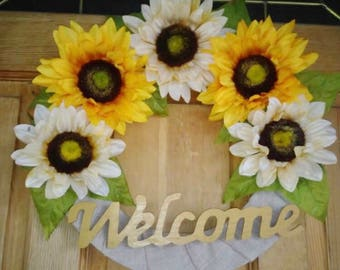 Custom Front Front Welcome Wreath
