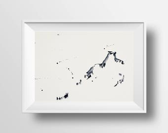 Watercolour Abstract Print 17