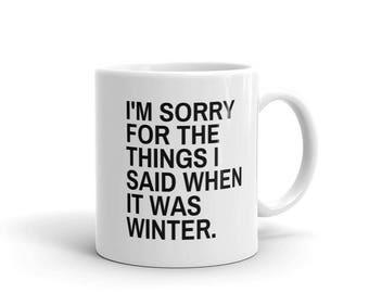 CUSTOM MUG  Sarcasm Mug Hot Cocoa Cocoa Sarcasm Quotes Mug Gift Quote Mug Funny Mug Gift Gift Ideas Mugs Gift Ideas For Mom Gifts Under 20