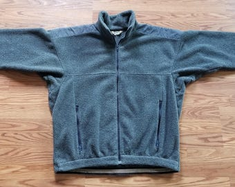 L.L. Bean Vintage 80's 1980's Fleece Pullover Jacket
