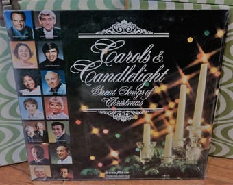 Carols & Candlelight-Great Songs Of Christmas LP Record