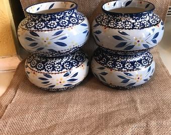Set of 4 chili bowls