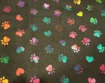 8 Piece Cage Set - Rainbow Paw Print