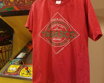 Vintage Authentic Tabasco T-shirt