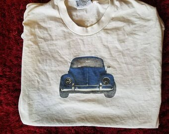 Vintage Lee Volkswagon Beetle T with front and back print