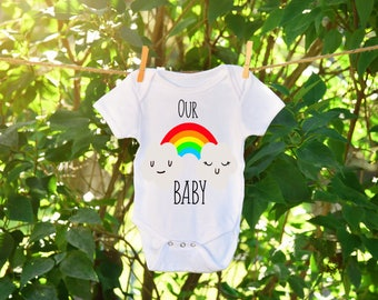 Rainbow Baby Announcement, Rainbow Baby, Rainbow baby onesie, Baby announcement, Birth announcement onesie, Our blessing Onesie, New arrival