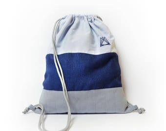 Cretoxyrhina drawstring backpack