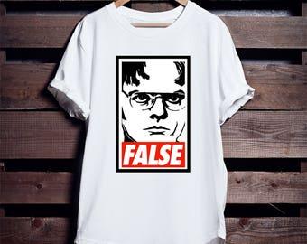 Dwight Schrute Obey Short-Sleeve Unisex T-Shirt