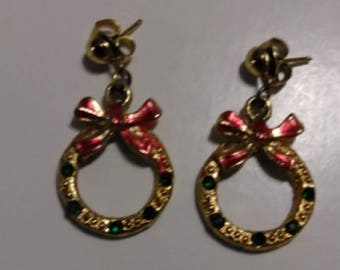 Really cute Christmas earrings