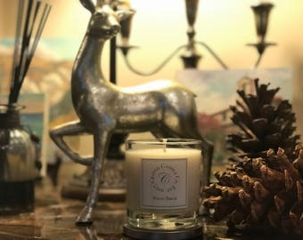 White Birch Soy Candle Delivered in Crate