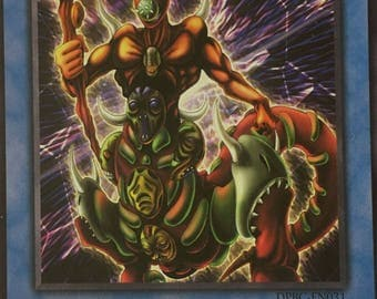Yu-Gi-Oh Card The Masked Beast 1st Edition