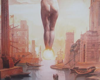 Salvador DALI (after) - The Dali removing the golden fleece of hand - signed in plate, numbered