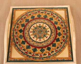 Serving Tray in Sun Pattern