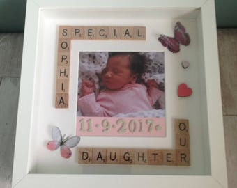 Personalised Special Daughter Frame