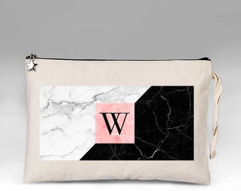 Personalized Makeup Bag, Makeup Bag, Marble Make Up Bag, Make Up, Bridesmaid Gift, Makeup Case, Cosmetic Bag, Makeup Organizer, Gift for Her