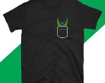 Perfect Cell Dragon Ball Z pocket Anime T Shirt