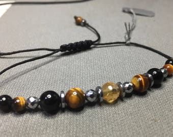 Protection and confidence, cord bracelet.