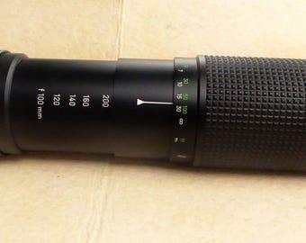 Minolta 100/200 mm zoom lens