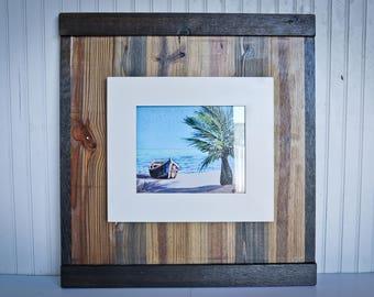 WOW!  Rustic Reclaimed Wood Frame (8x10) / rustic frames / rustic wooden frames / shabby chic frame / reclaimed wood frames