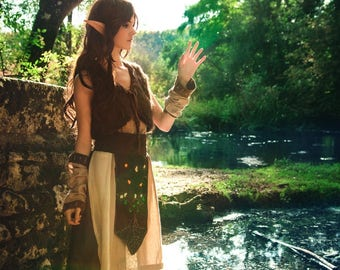 Print - Elf by the river